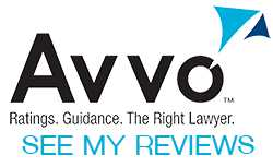 AVVO Logo lawyer reviews